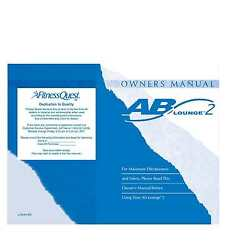 Ab Lounge 2 Owners User Manual Reprint Of Fitness Quest Abdominal Crunch Chair