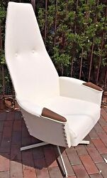 Adrian Pearsall High Back Lounge Chair Mid Century Modern