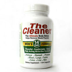 Century Systems The Cleaner Men#x27;s 14 Day Formula 104 Capsules $26.99