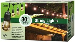 Feit Electric 10-Socket Outdoor String Light Bulbs (Case of 4)