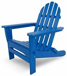 Polywood Classic Folding Adirondack Chair in 13 Colors