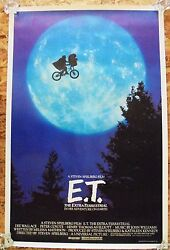 E.T. THE EXTRA-TERRESTRIAL (1982) ORIGINAL ONE-SHEET - ROLLED - RARE MOON STYLE