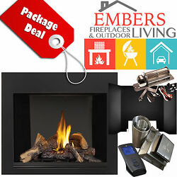 NAPOLEON HDX40 GAS FIREPLACE VENTING KIT BLOWER REFELECTIVE PANELS SURROUND