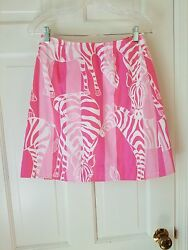 Lily Pulitzer reversible wrap-around skirt so pretty colorful and comfortable. $28.00