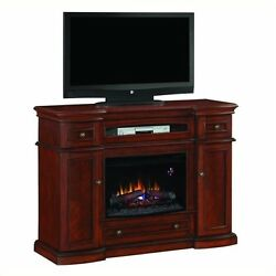 Classic Flame Montgomery Fireplace in Vintage Cherry