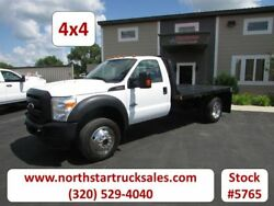 2012 Ford F-450 Flat-Bed Truck White with 91475 Miles available now!