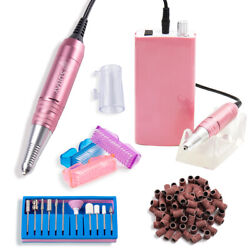 Professional Cordless Electric Nail File Drill Gel Nail Grinder Manicure Machine
