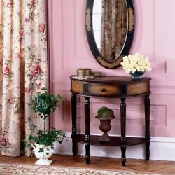 Butler Specialty Artists' Originals Demilune Console Table in Coffee