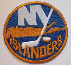 New York Islanders Embroidered Patch~3 12