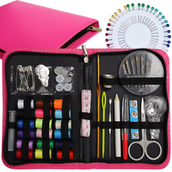 Sewing Kit-Over 120 Premium Sewing Supplies KitsHidreams Mini Sewing Kit for Tr