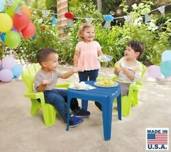 Kids Garden Table And Chairs Outdoor Party Activity Garden Yard Porch Patio Set