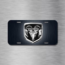 Ram Vehicle Front License Plate Auto Car Rebel 1500 2500 3500 Truck 4x4 NEW