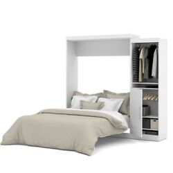 Bestar Nebula 90quot; Queen Wall Bed Kit in White $1953.46