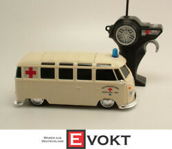 Maisto Tech RC VW Bus Ambulance Van Remote Controlled Bully Red Cross DRK 1:24 $89.89