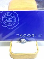 1.12CT HEARTS ON FIRE TACORI AGS CERTIFIED Diamond Engagement Ring ($17000+)