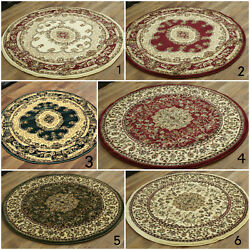 TRADITIONAL CIRCULAR RUGs CLASSIC SMALL AND LARGE ROUND CLEARANCE RUG CHEAP COST