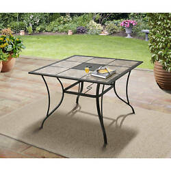 Modern Dining Table Outdoor Patio Garden Furniture Coffee Lawn Deck Porch 1d