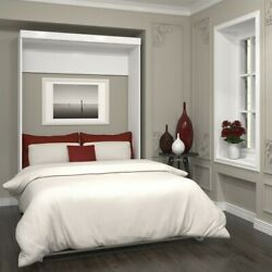 Bestar Pur 59quot; Full Wall Bed in White $1679.88