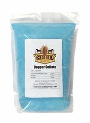 SeedRanch Copper Sulfate 99.0% Crystals Pentahydrate - 10 Lbs.