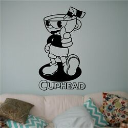 Vinyl Wall Decal. Sticker. Wall. Bedroom. Cuphead $9.99