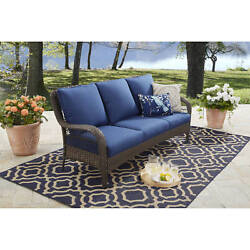 Patio Lounge Furniture Outdoor Bench Seat Garden Daybed Chaise Wicker Deck 1d