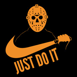 Just Do It Jason Voorhees Friday The 13th Nike Parody Shirt $14.99