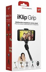 IK Multimedia 4-in-1 Video Accessory for Smart Phone iKlip® Grip