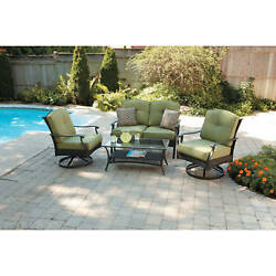 Patio Lounge Furniture Outdoor Dining Set Garden Lounge Chairs Table Bistro 1d