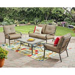 Outdoor Dining Set Patio Garden Furniture Table Chairs Loveseat Yard Deck Bistro