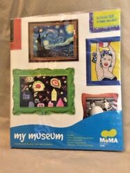 MY MUSEUM MoMA 20 Frame Decals 6 Modern Art Museum Children#x27;s Wall Kids Craft $12.00