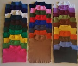 TURTLENECK DICKIES DICKEY 28 COLORS MADE IN US DIRECT FROM MFG FREE SHIPPING