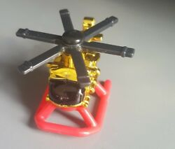 Plastic Helicopter Toy 1996 LGT 2quot; 90s Toy $7.00