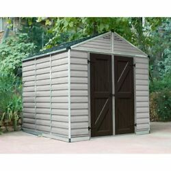 Palram SkyLight Storage Shed - Silver