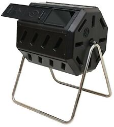 FCMP Outdoor IM4000 Tumbling Composter 37 gallon Black $125.47