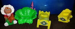 Vintage Cabbage Patch Kids Doll Furniture Accessories Lot