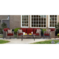 Outdoor Dining Set Patio Garden Furniture 4 Piece Bistro Table Chairs Yard Deck
