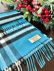 Burberry Check Cashmere Scarf100% AuthenticMade In ScotlandNew with Tag