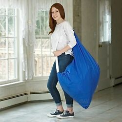 Durable Nylon Laundry Bag with Shoulder Strap | 30