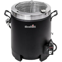 Char-Broil The Big Easy Oil-Less Liquid Propane Turkey Fryer w 16000 BTU Black