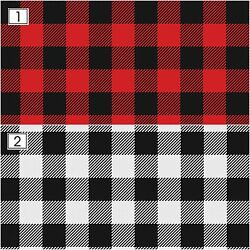 Outdoor Vinyl Heat Transfer Vinyl651HTV PrintsBuffalo Plaid Vinyl SKU 00111
