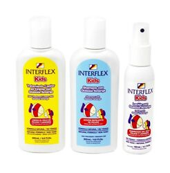 Interflex Kids All Natural Lice Repelling Shampoo Treatment and Repellent Combo $34.99