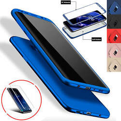 ShockProof Hybrid 360 TPU Phone Case Cover For Samsung Galaxy Note 9 S9 Plus S10