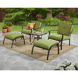 Outdoor Dining Set Patio Garden Furniture Chairs Table Yard Deck Lawn 5 Piece