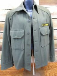1950's US Wool Field Shirt  MINT ~ Private Purchase