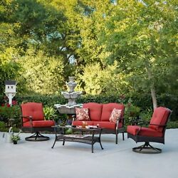 Patio Garden Furniture Set Outdoor Swivel Chairs Table Dining Bistro Lounge 1d