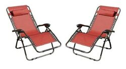 Zero Gravity Chair Chairs Lounge Set Rocking Recliner Padded Outdoor Patio Yard