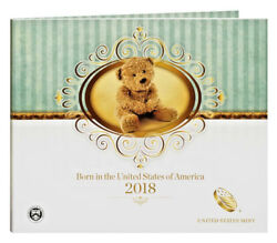 2018 S US MINT BIRTH SET (18RD) BIRTHDAY GIFT 5 COIN PROOF SET Official Issue