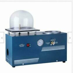 Jewelry Lost Wax Cast Combination Vacuum Investing Casting Investment Machine t