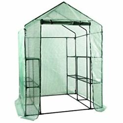Walk Greenhouses In Portable Garden Mini Plants Shed Hot House Tiers 12 Shelves