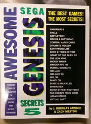 New Gaming Mastery: Awesome Sega Genesis Secrets 5 Strategy Guide $18.00